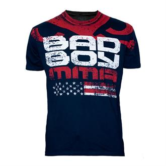 Bad Boy Midnight Blue American Flag Shirt